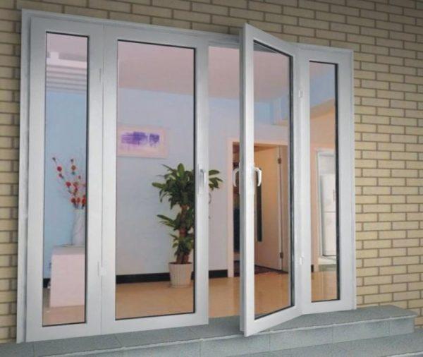 Cửa Nhôm Kính Đẹp - Các Mẫu 4 Cánh, Hệ 1000 Giá Rẻ Tphcm