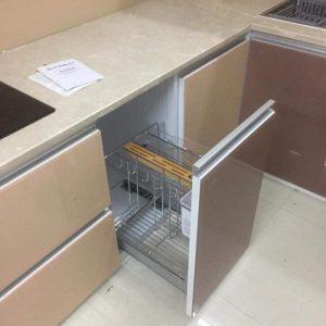 Tủ Bếp Nhôm Cao Cấp Sản Phẩm Hiện Đại Bền Bảo Hành 24 Tháng