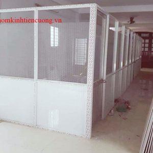 Vách Ngăn Nhôm Kính TPHCM Mẫu Cho Phòng Ngủ Thiết Kế Đẹp